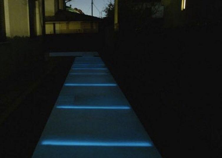 Fotoluminescenza Pavimentazione 9
